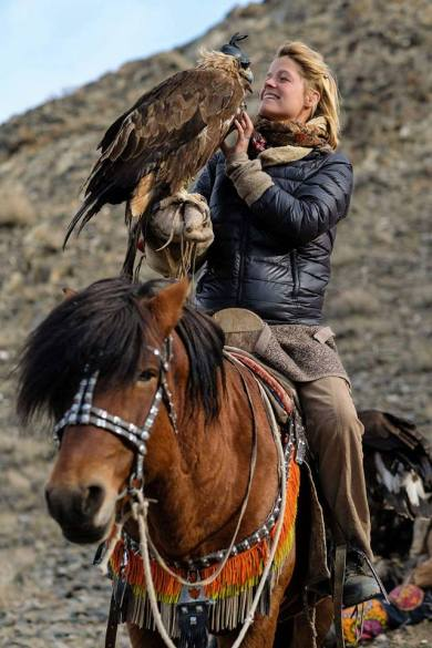 tamar eagle huntress