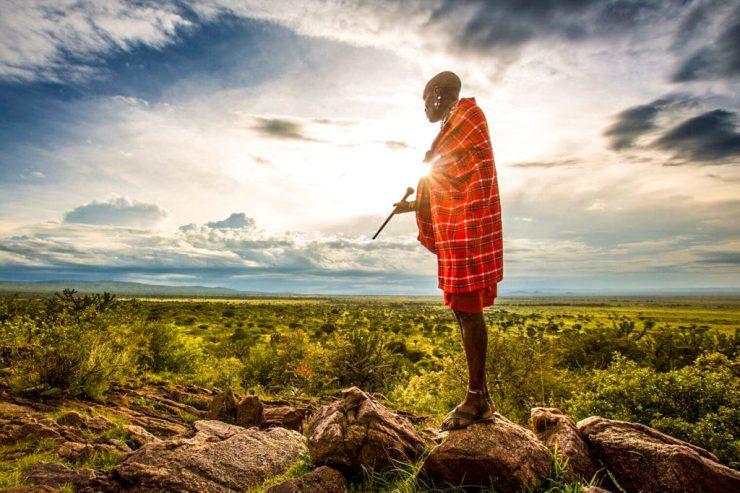 Maasai Kenia